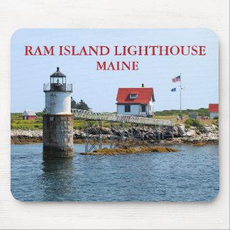 Ram Island Lighthouse, Maine Mousepad