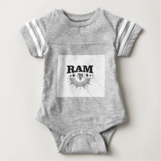 ram of the black star baby bodysuit