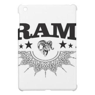 ram of the black star iPad mini cover
