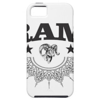 ram of the black star iPhone 5 cases