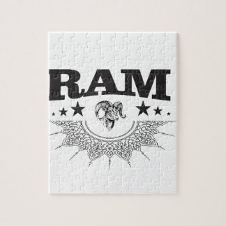 ram of the black star jigsaw puzzle