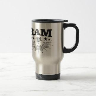 ram of the black star travel mug