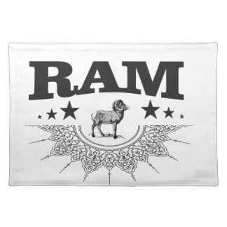ram of the sheep placemat