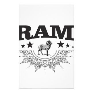 ram of the sheep stationery