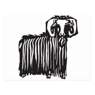 Ram Postcard