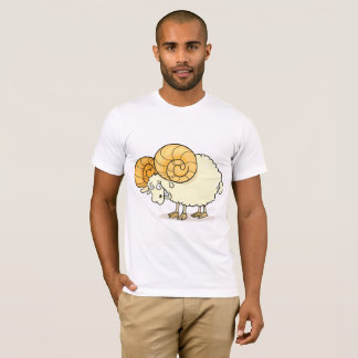 Ram Sheep Mens T-Shirt