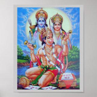 Ram-Sita-Hanumana Poster