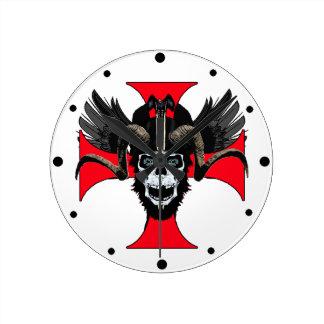 Ram skull 3 tw clock
