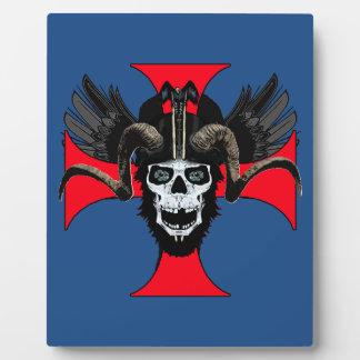 Ram skull 3 tw plaque