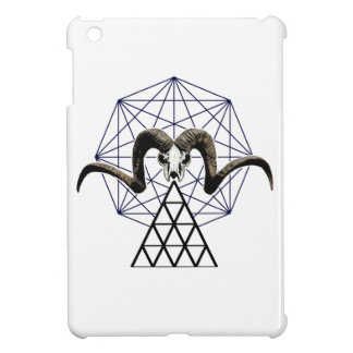 Ram skull sacred geometry case for the iPad mini