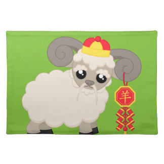Ram With Firecrackers Placemats