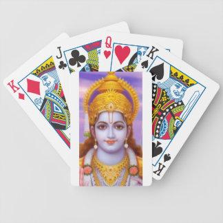 rama god bicycle playing cards