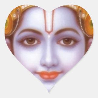 rama god heart sticker