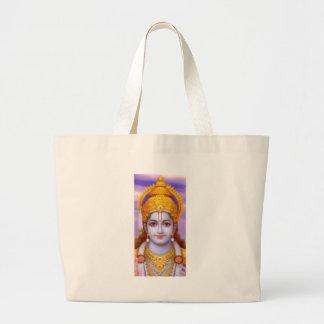 rama god large tote bag