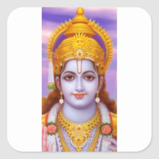 rama god square sticker