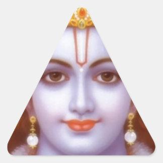 rama god triangle sticker