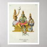 Rama, gravé par du Bouisi (litho de couleur) Poster