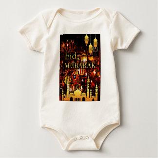 ramadan card 3 baby bodysuit