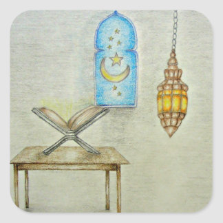 RAMADAN DAY SQUARE STICKER