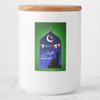 Ramadan Eid Window - Food Container Label