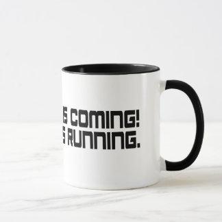 Ramadan is Coming! Shaytan is Running Mug's Mug