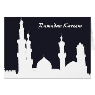 Ramadan Mosque Black Card