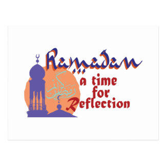Ramadan Time For Reflection Postcard