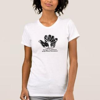 Ramapo pour le Throwdown de bases d'enfants T-shirts