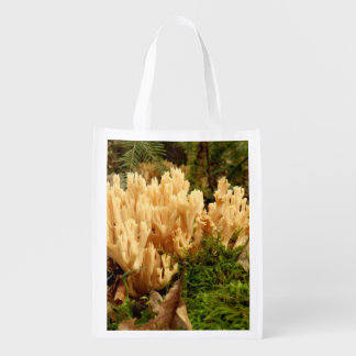 Ramaria stricta Fungi Reusable Bag