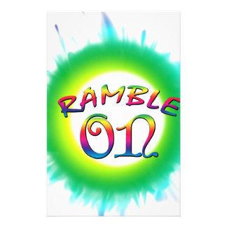 Ramble On Stationery