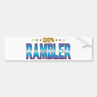 Rambler Star Tag v2 Bumper Sticker