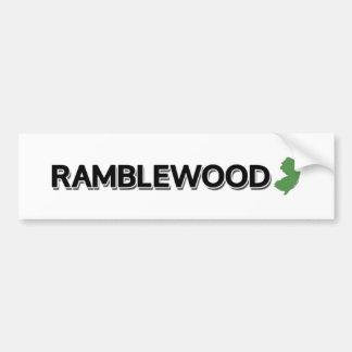 Ramblewood, New Jersey Bumper Sticker