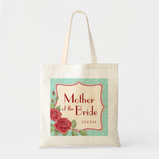 Rambling Rose - Mother of the Bride Tote Bag