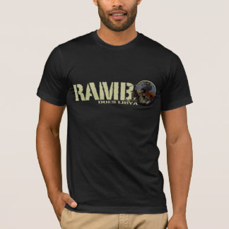 RAMBO DOES LIBYA T-Shirt