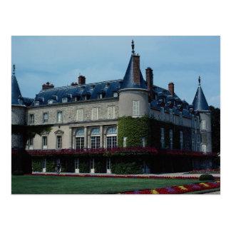 Rambouillet Chateau, Charles de Gaulle's favorite Postcard