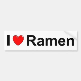 Ramen Bumper Sticker