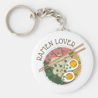 Ramen Lover Japanese Food Miso Noodles Soup Bowl Keychain