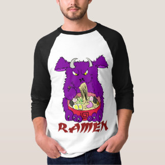 ramen monster long sleeve t-shirt
