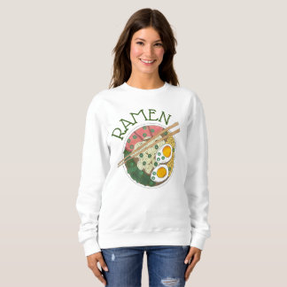 Ramen Noodles Bowl Japanese Food Restaurant Foodie Sweatshirt