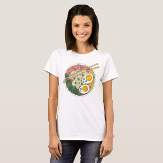 Ramen Noodles Bowl Japanese Food Restaurant Foodie T-Shirt