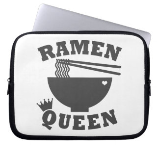 Ramen Queen Laptop Sleeve