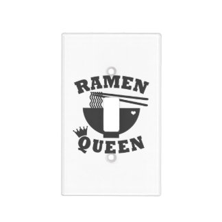 Ramen Queen Light Switch Cover