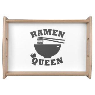 Ramen Queen Serving Tray