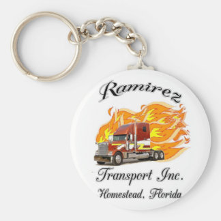 RAMIREZ LOGO COVER BASIC ROUND BUTTON KEYCHAIN