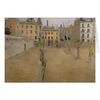 Ramon Casas -Courtyard of the Old Barcelona Prison Card