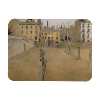 Ramon Casas -Courtyard of the Old Barcelona Prison Magnet