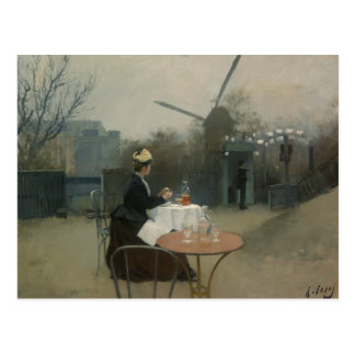 Ramon Casas - Plein Air Postcard
