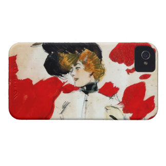 """Ramon painting Houses """"Lady with hat of pens """" iPhone 4 Case-Mate Case"""