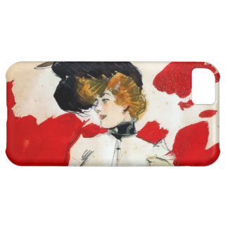 """Ramon painting Houses """"Lady with hat of pens """" iPhone 5C Covers"""