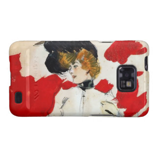 """Ramon painting Houses """"Lady with hat of pens Samsung Galaxy SII Cover"""